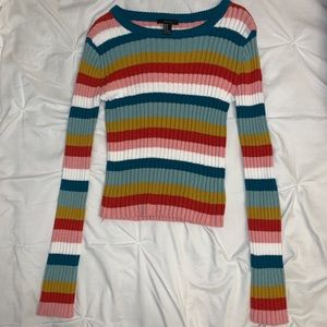 forever 21 colorful striped sweater!